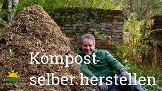 Gerald Dunst zeigt, wie einfach die Hausgartenkompostierung sein kann