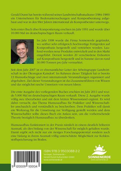 Buch Humusaufbau - Chance für die Landwirtschaft und Klima, Gerald Dunst, Deckblatt