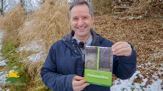 Gerald Dunst präsentiert sein zweites Humusaufbau-Buch
