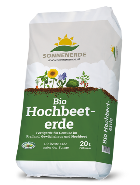 20 Liter Sack Bio Hochbeeterde von Sonnenerde
