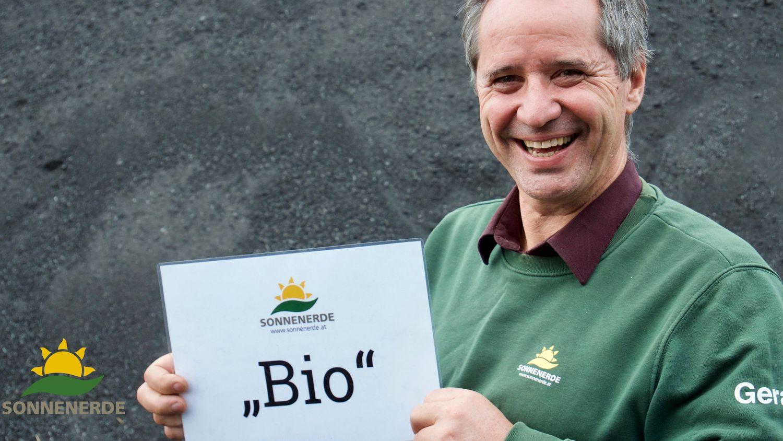Sonnenerde Bio Zulassung Pflanzenkohle Gerald Dunst