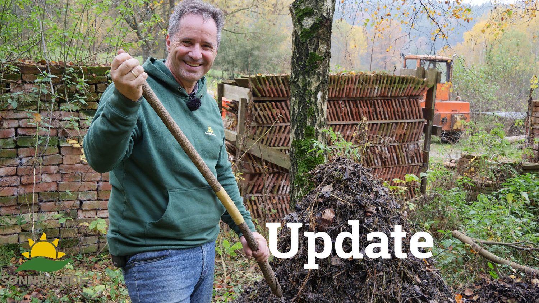 Kompostierung im Hausgarten | Teil 2 Update auf Erd-Geflüster