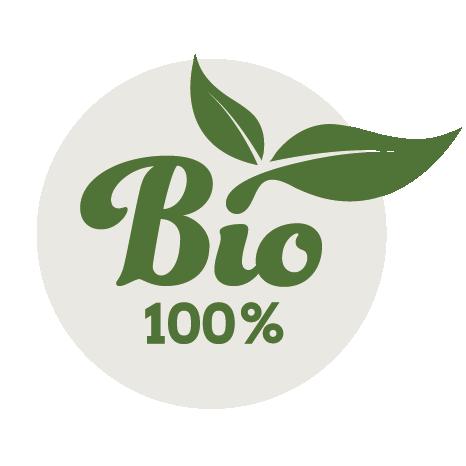 Das 100%-Bio Siegel von Sonnenerde kennzeichnet alle Produkte, die für den ökologischen Landbau zugelassen sind