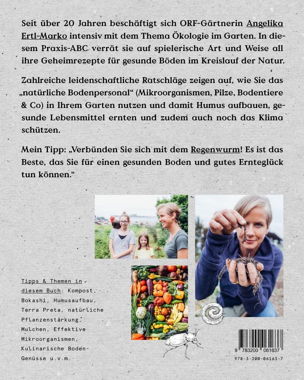 """Buch """"Das große Boden-ABC"""" - von Angelika Ertl, Rückseite"""