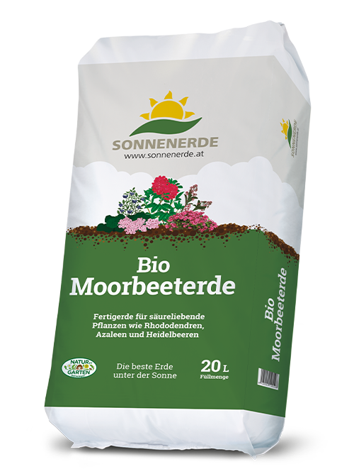 20 Liter Sack Bio Moorbeeterde von Sonnenerde