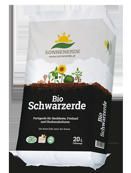 20 Liter Sack Bio Schwarzerde von Sonnenerde