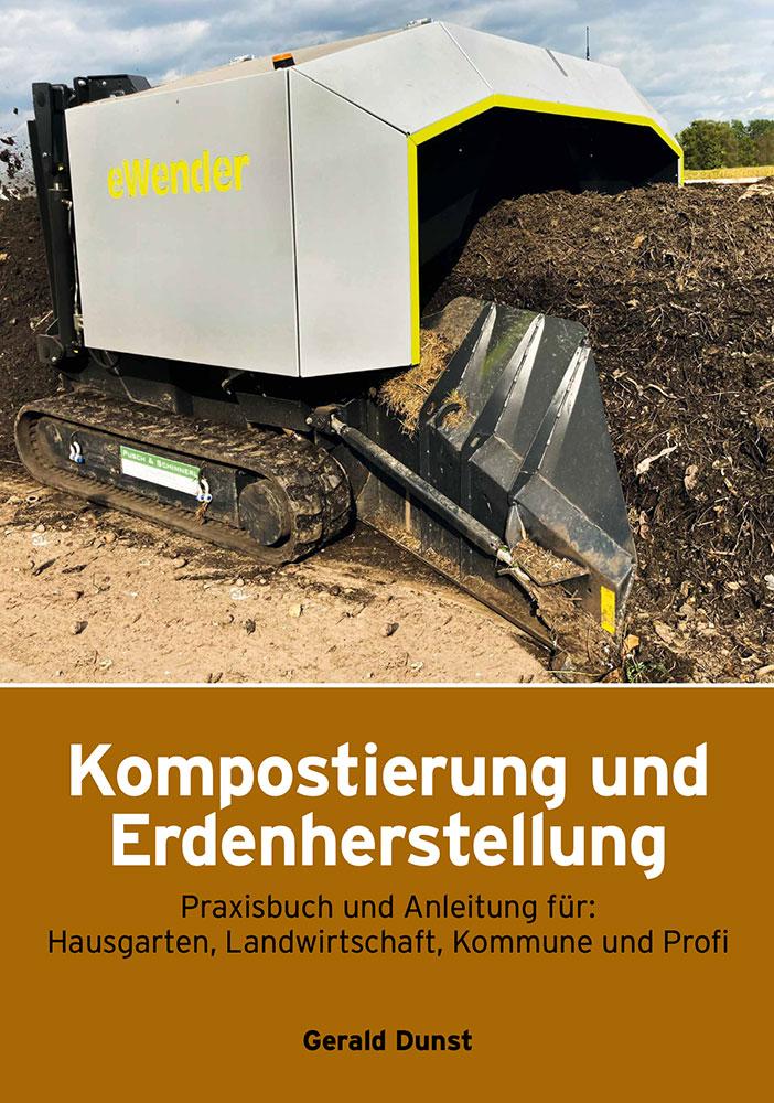Buch Kompostierung und Erdenherstellung, Gerald Dunst, Deckblatt